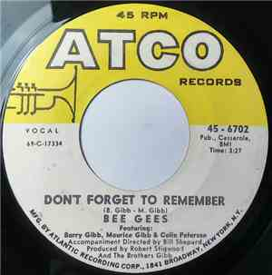 Bee Gees - Don't Forget To Remember / The Lord