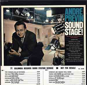 André Previn - Sound Stage!