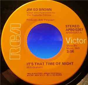 Jim Ed Brown - It's That Time Of Night / If Wishes Were Horses