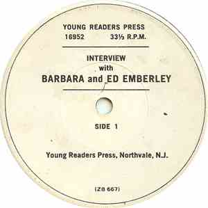 Barbara And Ed Emberley - Interview With Barbara And Ed Emberley