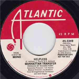 The Manhattan Transfer - Helpless