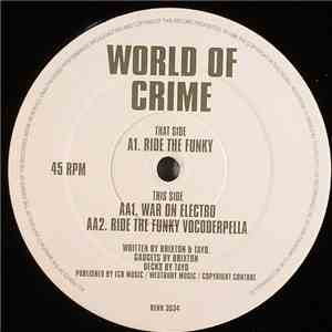 World Of Crime - Ride The Funky