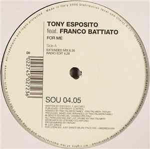 Tony Esposito feat. Franco Battiato - For Me