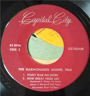 The Harmonaires Gospel Trio - Study War No More