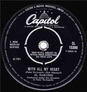 Al Martino - With All My Heart